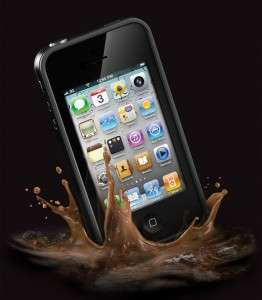LIFE PROOF FOR SPRINT PCS IPHONE 4 4S WATER DIRT SHOCK SNOW PROOF NEW