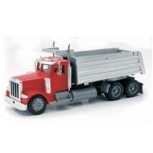 Radio Remote Control 1:32 Peterbilt Dump Truck: Toys & Games