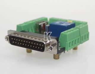CNC Stepper Motor Driver Board MACH3 6 Axis Interface Breakout Board