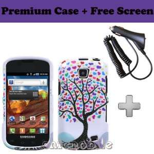 Charger + Screen + TREE Case Cover NET 10 Straight Talk SAMSUNG GALAXY