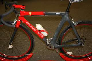 Colnago Ferrari Road Bicycle with stand