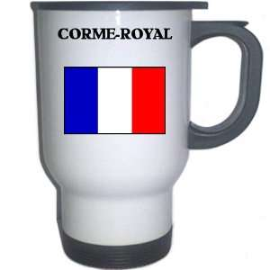 France   CORME ROYAL White Stainless Steel Mug