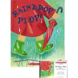 : Raindrop, Plop! Book and Audiocassette Tape Set (Paperback): Wendy