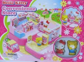 Hello Kitty Mini Town  Convenience Store Toy Play Set