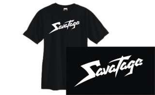 Savatage t shirt 80s hair metal retro rock cool Sm 3XL