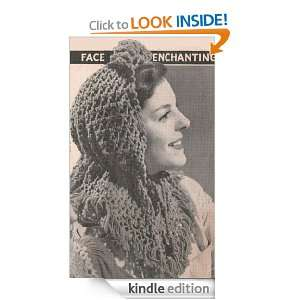 Crocheted Head Scarf Vintage Crochet Pattern EBook Download