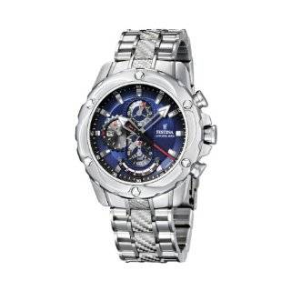 Festina Mens Crono F16525/4 Silver Stainless Steel Quartz Watch with