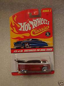 Hot Wheels Classics Series 2 custom VW Drag Truck