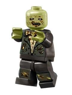 Custom LEGO Resident Evil Zombie Gamecube Wii Minifig
