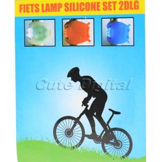 led bicycle bike safety flashing light lamp cute digital store