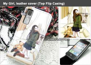Apple iPhone 4S/4 Cute Protective Cell Phone Leather Case Cover (My