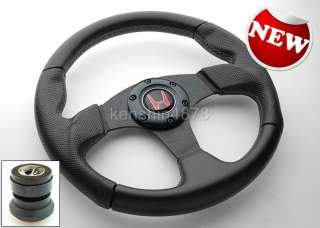 96 00 HONDA CIVIC STEERING WHEEL H HORN BUTTON SHORT HUB ADAPTER QUICK