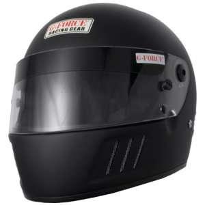 Eliminator Matte Black Large SA10 Full Face Racing Helmet Automotive
