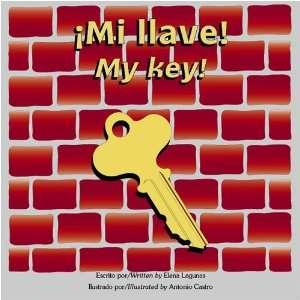 My key! (Bilingual Book/Audio CD/Coloring Book) (9781891256158) Elena
