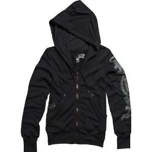 Fox Racing Womens Black Teachers Pet Zip Hoody