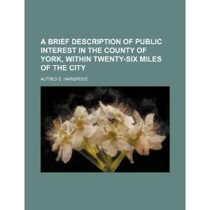 six miles of the city (9781235760495): Alfred E. Hargrove: Books