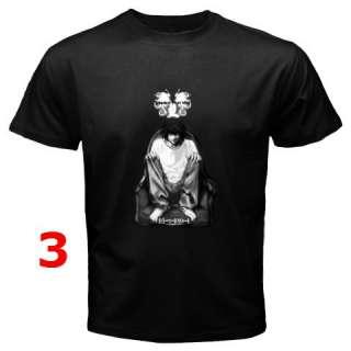 DEATH NOTE BLACK T SHIRT #1 (9 DESIGN)