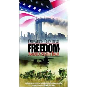 Operation Enduring Freedom [VHS] Armando Díaz, Johnie