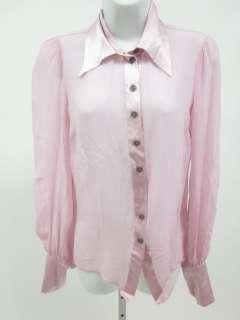 ROSS + BLUE Pink Long Sleeve Buttondown Shirt Top Sz S