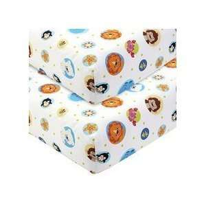 Fisher Price   Precious Planet 2 pack Crib Sheet Set Baby