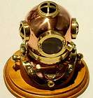 US NAVY DIVERS HELMET MARK V MORSE DIVING EQUIPMENT Co