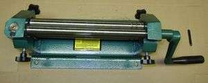 12 SHEET METAL SLIP ROLL ROLLER