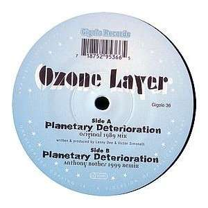 OZONE LAYER / PLANETARY DETERIORATION (1999 REMIX): OZONE LAYER: Music