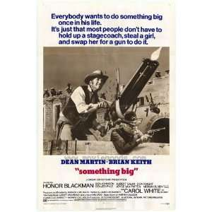 Something Big Poster Movie 27x40 Joe Gray Dean Martin