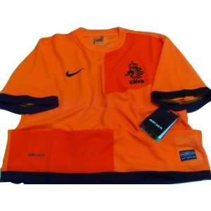 Soccer Jersey Holland Home Football Shirt Euro 2012 Size M 42 , Xl 46