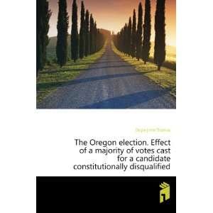 candidate constitutionally disqualified Doyle John Thomas Books