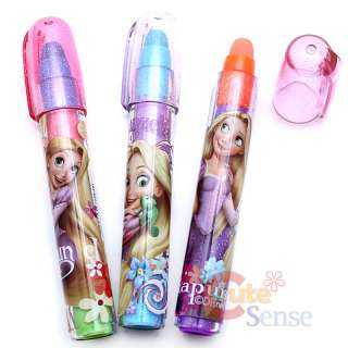 Disney Princess Tangled Rapunzel Pencil Fragrance Eraser 15pc