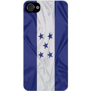 Rikki KnightTM Honduras Flag White Hard Case Cover for