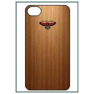 Atlanta Hawks NBA Team Logo Wood Floor Pattern iPhone 4s