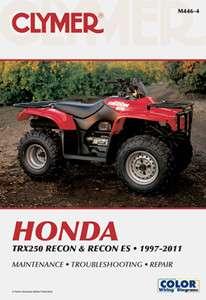 Clymer Honda TRX350 Rancher 2000 2006