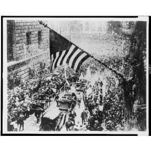 Boston,Richard Byrd,ticker tape parade,1920s,home town