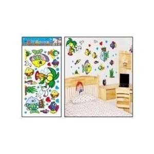 Tropical Fish Wall Stickers Decals