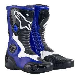 SMX 5 Boots Blue/Black EURO Size 37 Alpinestars SPA 222309