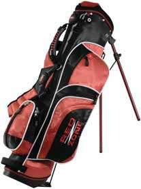 Red Zone Junior Golf Club Stand Bag Set, Size 3,