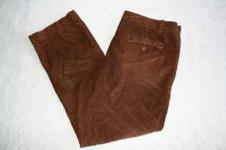 NWT DOCKERS K1 Khaki Corduroy Pants Vintage Worn Look 36 W 32 L