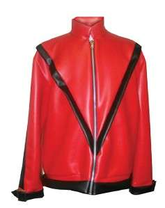 MICHAEL JACKSON RED THRILLER JACKET COSTUME UR17004