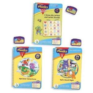Phonics Reading Educational Interactive Books & Catridges Toys