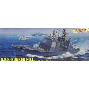 USS Bunker Hill Guided Missile Cruiser 1 350 Dragon: Toys & Games