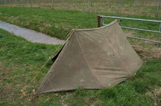 WWII US Army airborne Shelter half Tent dated