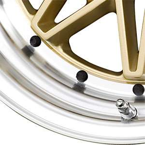 New 15X7 4 100 Drag Dr20 Gold Machined Lip Wheels/Rims