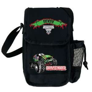 Monster Jam?? Grave Digger Black Lunch Bag Kitchen