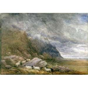 Hand Made Oil Reproduction   David Cox   24 x 16 inches