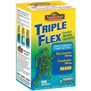 Nature Made Triple Flex Double Strength Glucosamine Chondroitin Plus