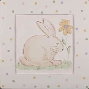 Bunny 3D Hand Painted Art Baby