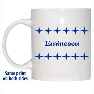 Personalized Name Gift   Eminescu Mug: Everything Else