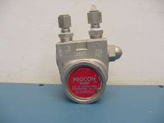 Stainless Steel 2600 Rotary Vane Procon Pump 170PSI